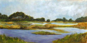 wetlands.oil.15x30cm
